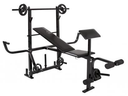 04e919a6a Estação Aparelho de Musculação Polimet 0799 - 3 Exercícios 2 Anilhas 1kg 2  Anilhas 2kg