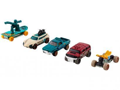 Carrinho Hot Wheels 1806 Mattel - com 5 Peças