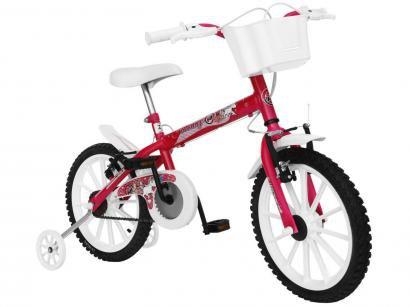 Bicicleta Infantil Track  Bikes Monny Neon Aro 16 - Freio V-brake