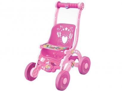 Carrinho de Boneca Princesas Disney - Lider Brinquedos 2443