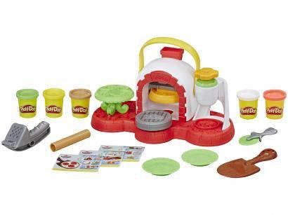 Massinha Kitchen Creations - Play-Doh Forno de Pizza Hasbro com Acessórios