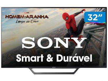 """Smart TV LED 32"""" Sony KDL-32W655D Full HD  - Wi-FI Conversor Digital 2 HDMI 2 USB"""