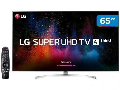 "Smart TV 4K LED 65"" LG 65SK8500PSA Wi-Fi HDR - Inteligência Artificial 4 HDMI 3 USB"
