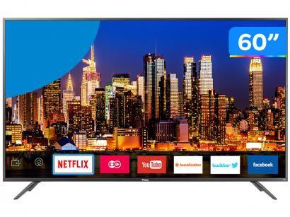 "Smart TV 4K LED 60"" Philco PTV60F90DSWNS - Wi-Fi HDR Conversor Digital 3 HDMI 2 USB"