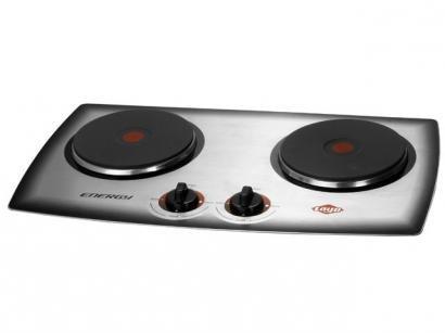 Cooktop 2 Bocas Layr 777 Inox Elétrico - Acendimento Automático