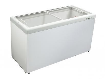 Freezer Horizontal 2 Tampas de Vidro Metalfrio - 439L HF55LB2001