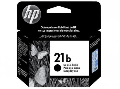 Cartucho de Tinta HP 21 B Preto - Original