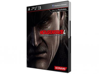Metal Gear Solid 4: Guns of the Patriots para PS3 - Konami
