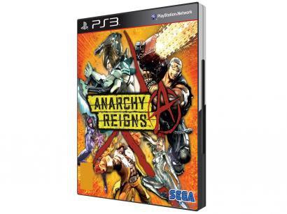 Anarchy Reigns p/ PS3 - Sega