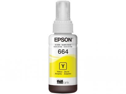 Garrafa de Tinta Epson T664420 Amarelo - Original