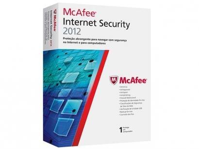 Antivírus Internet Security 2012 - McAfee