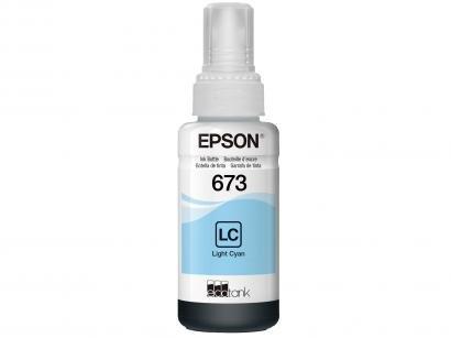 Garrafa de Tinta Epson T673520-AL Ciano Claro - Original