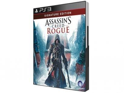 Assassins Creed Rogue - Signature Edition para PS3 - Ubisoft