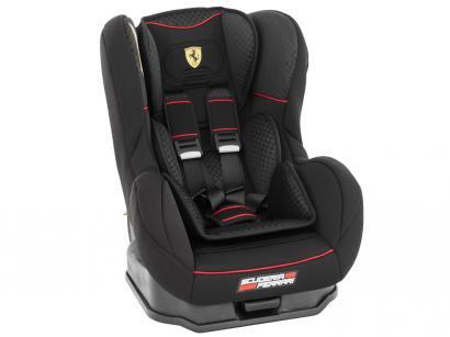 Cadeira para Auto Ferrari Black Cosmo SP - Regulável para Crianças até 25Kg