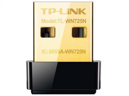 Nano Adaptador USB Wireless 150Mbps  TL-WN725N  - TP-Link