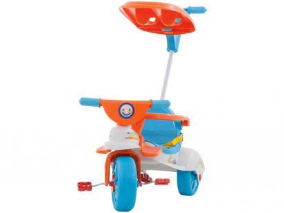 Triciclo Infantil com Empurrador Xalingo  - Multi Care Girl 3 x 1 com Porta Objetos