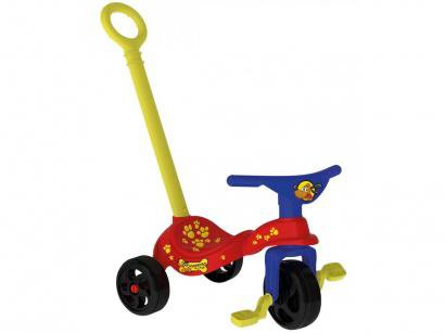 Triciclo Infantil Xalingo Cachorrinho - Haste Removível