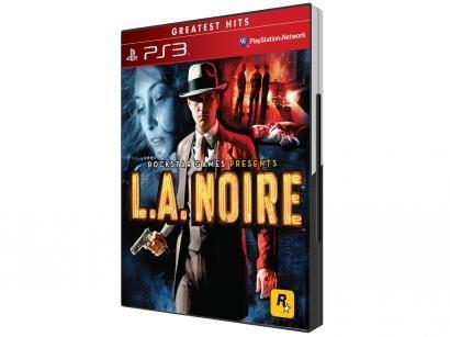 L.A. Noire para PS3 - Rockstar