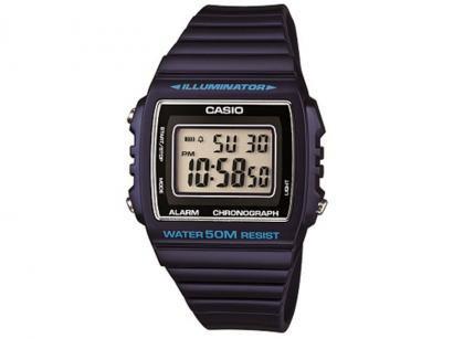 Relógio Unissex Casio Digital  - Resitente à Água Vintage W-215H-2AVDF