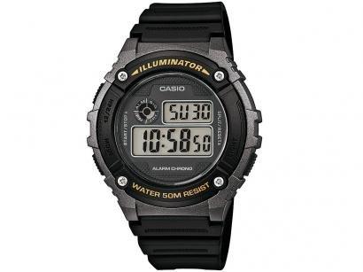 f610bb104b7 Relógio Masculino Casio W-216H-1BVDF - Digital Resitente à Água com  Calendário