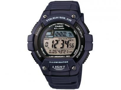 Relógio Masculino Casio Digital - Resitente à Água W-S220-2AVDF