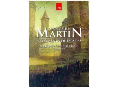 Livro A Tormenta de Espadas - As Crônicas de Gelo e Fogo George R. R. Martin