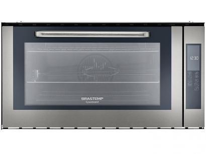 Forno de Embutir Elétrico Brastemp Gourmand - BOC90 BRBNA Inox 105L Grill Timer