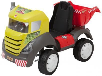 Mini Caminhão a Pedal Infantil Brutus - Bandeirante