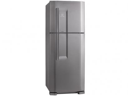 Geladeira/Refrigerador Electrolux Cycle Defrost - Duplex 475L Inox Multi Flow System DC51X