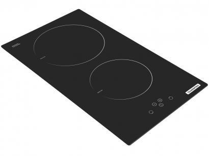 Cooktop 2 Bocas Tramontina Dominó Touch 2EI - Indução Vitrocerâmico Acendimento Automático