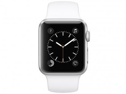 Apple Watch Series 1 38mm Alumínio 8GB Esportiva - Bluetooth Wifi Resistente à respingos de água