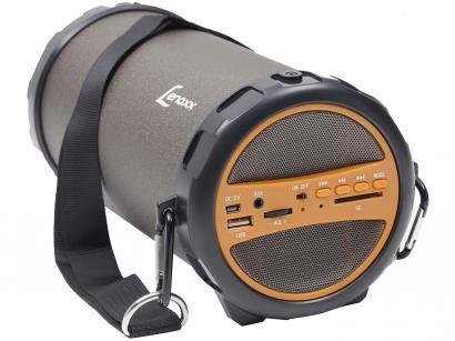 Caixa de Som Bluetooth Portátil Lenoxx BT 530 30W - USB com Subwoofer MP3 com Entrada SD