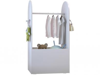 Roupeiro Infantil com Caixa Organizadora - Multimóveis Encantada Luiza
