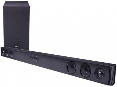 Soundbar LG SJ3 2.1 Canais 300W Bluetooth  - Subwoofer USB