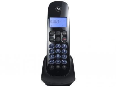 Telefone Sem Fio Motorola MOTO750  - Identificador de Chamada Viva Voz Preto