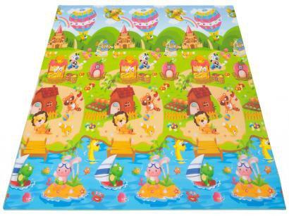 Tapete Infantil Festa da Princesa Dupla Face - Ibimboo 2,00x1,80cm