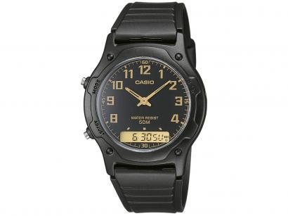 Relógio Masculino Casio Anadigi - AW-49H-1BVDF