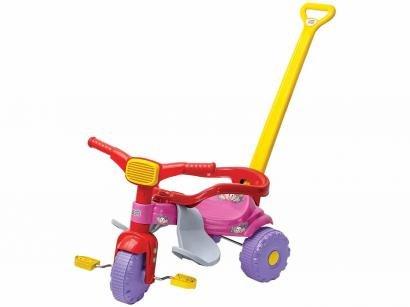 Triciclo Infantil Magic Toys Mônica - Haste Removível