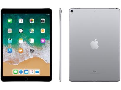 "iPad Pro Apple 64GB Cinza Espacial Tela 10,5"" - Retina Proc. Chip A10X Câm. 12MP + Frontal iOS 11"
