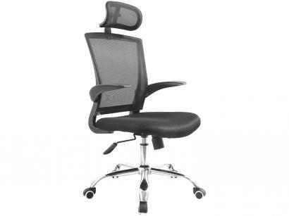 Cadeira de Escritório Presidente Giratória - Com Regulagem de Altura Travel Max MB-698A