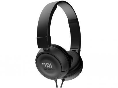 Headphone/Fone de Ouvido JBL com Microfone - Dobrável Cabo P2 Core Headphones T450
