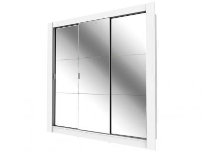 Guarda-roupa Casal 3 Portas Madesa - City 1056-3E com Espelho