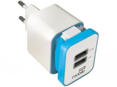 Carregador Parede para  - Celular/GPS/iPhone/Tablet Easy Mobile Smart USB