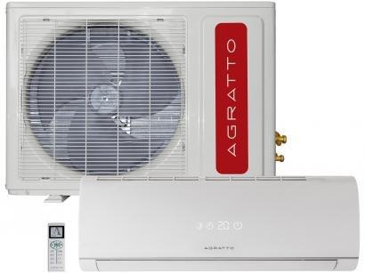 Ar-Condicionado Split Agratto 12.000 BTUs - Quente/Frio Frio com Controle Remoto
