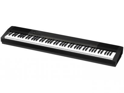 Piano Digital Casio CDP 130BK 88 Teclas - com Pedal Estante de Partitura