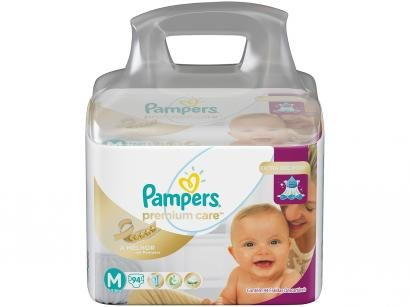 Fraldas Pampers Premium Care Tam. M 94 Unidades - Extra Sec Pods