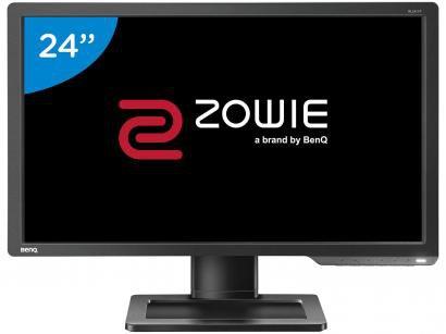 """Monitor Gamer Full HD BenQ Zowie LED Widescreen - 24"""" Série XL XL2411P"""