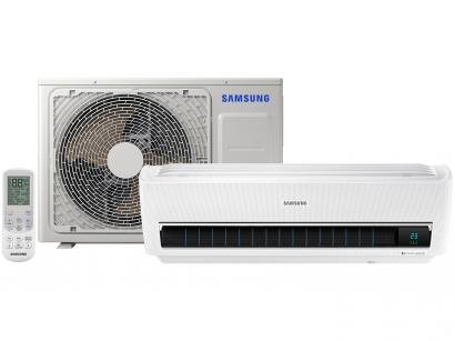 Ar-condicionado Split Samsung Wind Free Digital - Inverter 12.000 BTUs Frio AR12MVPXAWK/AZ