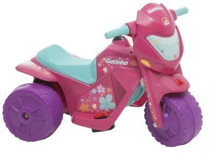 Moto Elétrica Infantil Gatinha 2 Marchas - Bandeirante