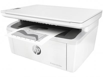 Impressora Multifuncional HP LaserJet Pro M28w - Laser Wi-Fi Monocromática USB